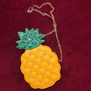 Aldo's pineapple crossbody bag